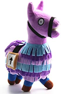 Qukueoy Loot Llama Plush Toys Loot Supply Gamer Gifts Reward,Gaming Alpaca Treasure Box 25cm Collectible for Kids and Adults