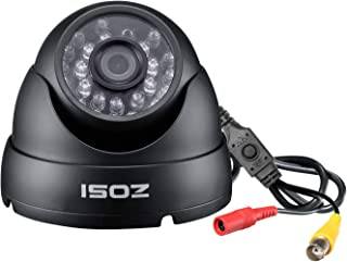 ZOSI 2.0MP FHD 1080p Dome Camera Housing Outdoor Indoor (Hybrid 4-in-1 CVI/TVI/AHD/960H Analog CVBS),24PCS LEDs,65ft IR Night Vision,CCTV Security Camera with 105° Wide Angle