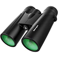 Adorrgon 12x42 HD Powerful Binoculars with Clear Low Light Vision