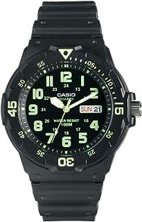 Casio Hommes Analogique Quartz Montre avec Bracelet en Résine MRW-200H-3BVEF