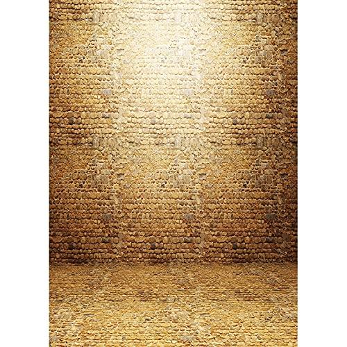 Tablón de Madera Accesorios de Fondo de fotografía Vintage Piso de Madera Fondo de Estudio fotográfico Fondo de fotografía de Vinilo Tela A40 10x7ft / 3x2.2m