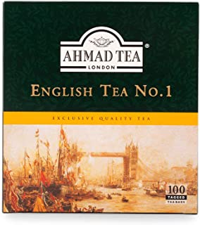 Ahmad Tea English Tea No.1, 100 Teabags, 598