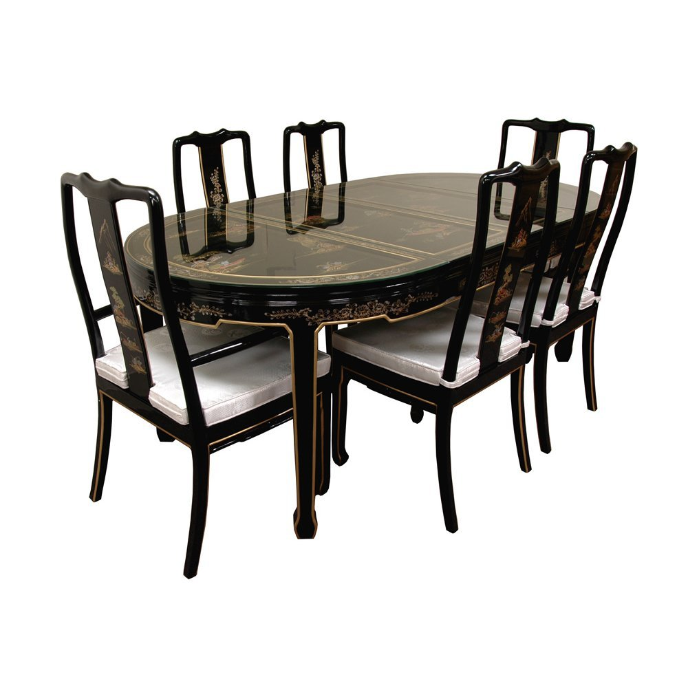 Black Lacquer Dining Room Chairs: Black Lacquer Dining Chairs