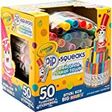 Crayola Pip Squeaks Marker Set, 50 Washable Markers, Gift for Kids