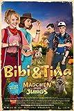 Bibi & Tina - Mädchen gegen Jungs Film Maxi-Poster Druck