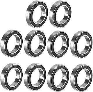 4pcs Full Complement Ceramic ZrO2 Ball Bearing Bearings 6801 12mm x 21mm x 5mm