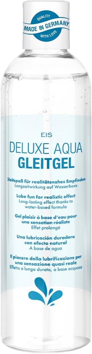 EIS, Lubricante Deluxe Aqua sandía, efecto de larga duración acuoso, 300ml