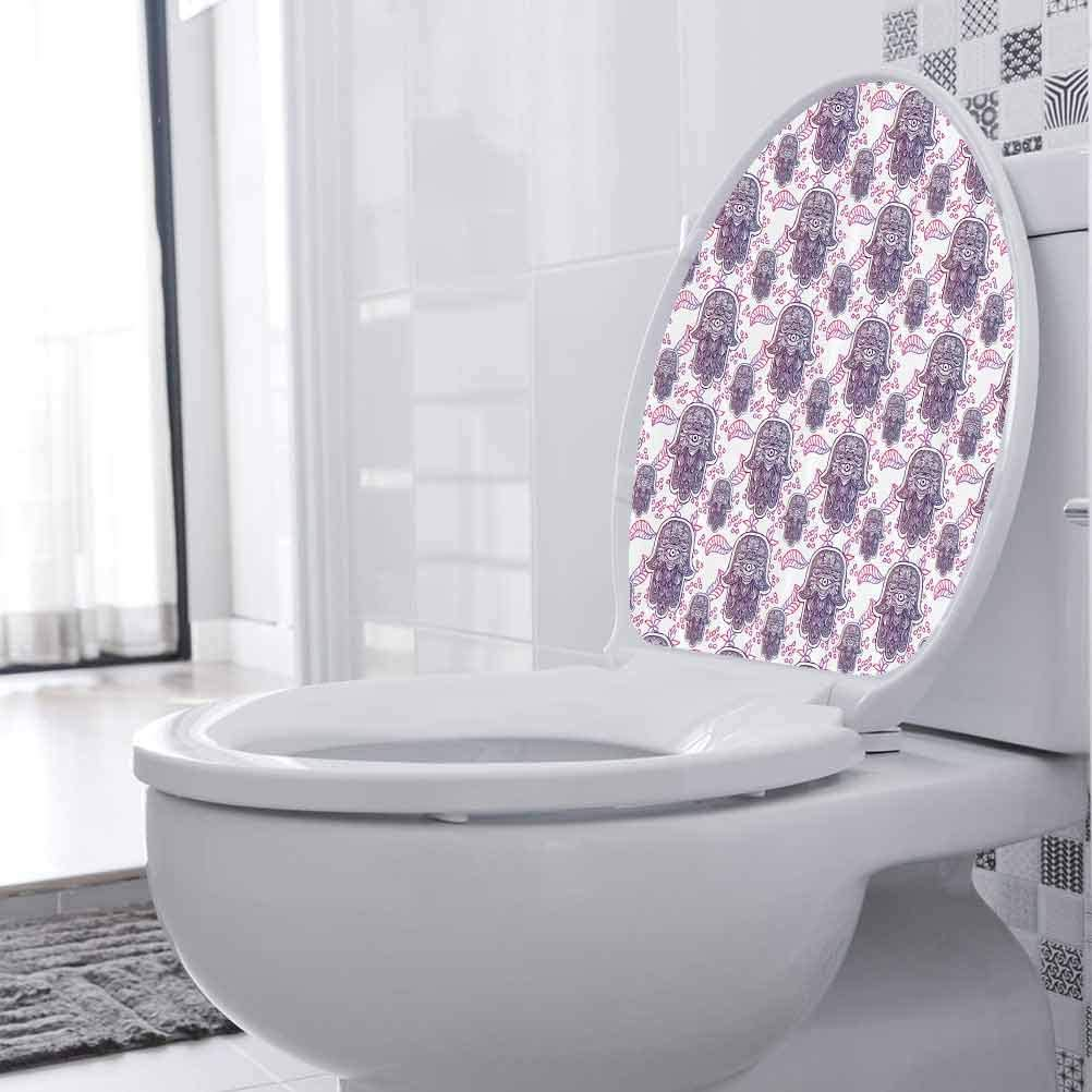Toilet Store Houston Mall Seat Lid Cover Decals Circles Vinyl Ombre Leaves Stickers