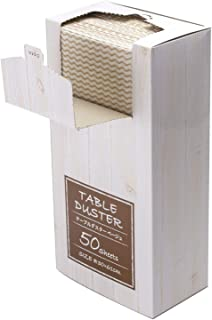 ストリックスデザイン テーブルダスター ベージュ 約30×61cm 繰り返し洗って使える 不織布 箱入 SA-134 50枚入