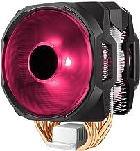 Cooler Master MasterAir MA610P RGB CPU Air Cooler, 6 CDC 2.0 Heatpipes, Aluminum Fins, Push-Pull, Dual MF120R RGB Fans, RG...