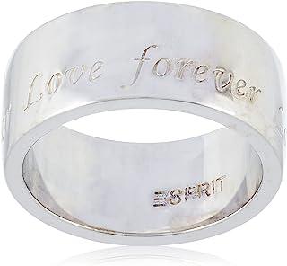 خاتم من الفضة الاسترلينية 925 للحب النقي مطلي روديوم للنساء من اسبريت