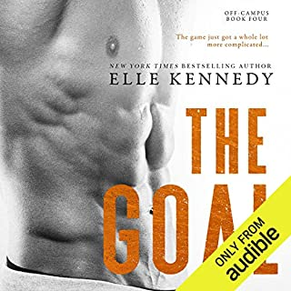 The Goal                   Written by:                                                                                                                                 Elle Kennedy                               Narrated by:                                                                                                                                 Susannah Jones,                                                                                        Andrew Eiden                      Length: 10 hrs and 39 mins     6 ratings     Overall 5.0