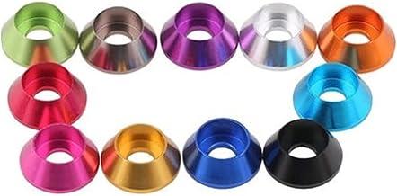 Tuanie Lnanqing-Seal Washer Aluminium Cap Head Washer M2 M2. 5 M3 M4 M5 M6 M8 Multi- Color Aluminium Washer Voor Hex Socke...