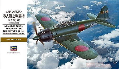 wholesape barato Hasegawa HASST34 HASST34 HASST34 Mitsubishi A6M5C Zero Fighter Type 52 Kit 1 32 MODELLINO Model Compatible con  opciones a bajo precio