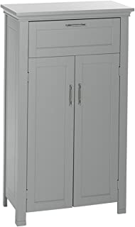 RiverRidge Somerset Collection Two-Door Floor Cabinet, Gray