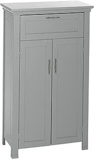 RiverRidge Somerset Collection Two-Door Floor Cabinet, Gray