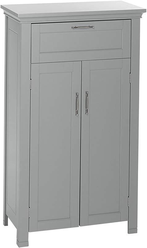 RiverRidge Somerset Collection Two Door Floor Cabinet Gray