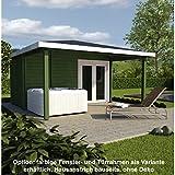 Gartensauna Saunahaus Gartenhaus Holzhaus Technikraum