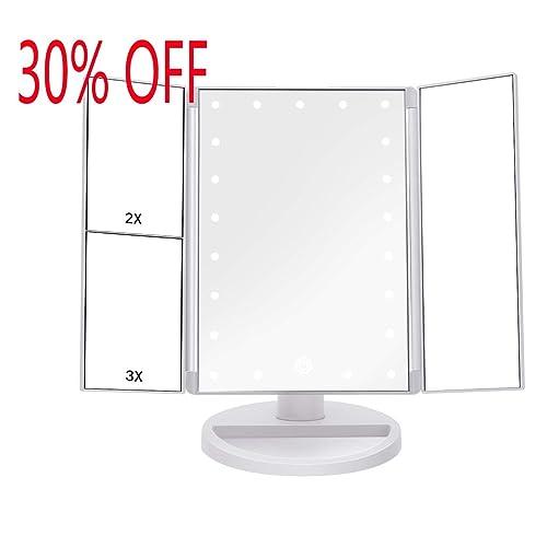 Light Up Makeup Mirrors Amazon Co Uk