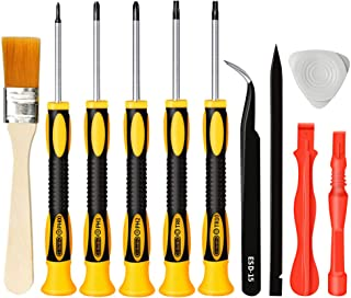 E.Durable Screwdriver Kit for Playstation PS3, Complete Repair Cleaning Tool Kit for All Sony PlayStation Consoles PS3 / PS4 / Vita / PS1 / PS2 / PSV/PSP, etc (PS3)