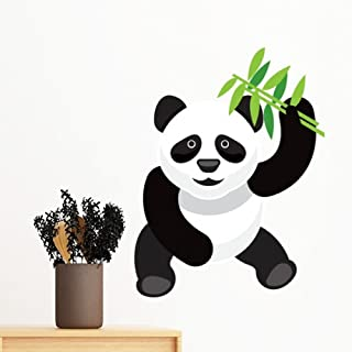 DIYthinker China Chinese Panda Bamboo Traditional Culture Art Illustration Pattern Removable Wall Sticker Art Decals Mural...
