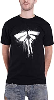 The Last of Us T Shirt Firefly Logo Official Gamer Mens Black