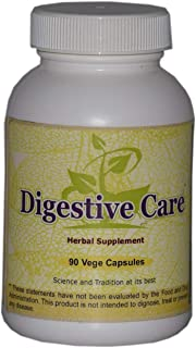 Digestive Care (Ayurvedic Digestion Care Formulation) 90 Vege Capsules, 800 Mg Each - Concentrated