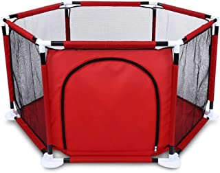 上げられた純糸の六角形の演劇の塀のPlayardの子供のボールプール