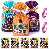 Un pacchetto di 60 sacchetti di Halloween caramelle caramelle sacchetti regalo borse per feste forniture per feste
