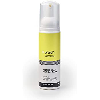 WASH: Fragrance-free, Unscented, Sulfate-free Intimate Foam Wash With Prebiotics. Naturally control body-odor.