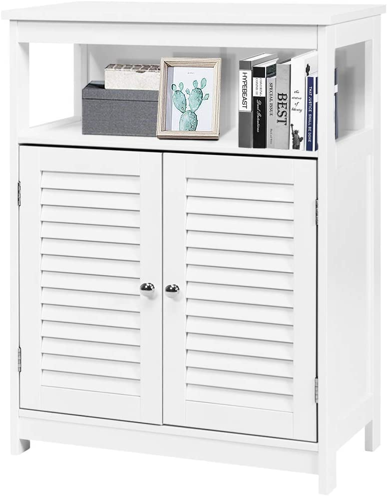 GLACER El Paso Mall Bathroom Now on sale Floor Storage Cabinet Multifunctional Free Stan