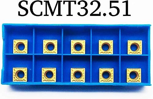 lowest ZIMING-1 SCMT09T304-HMP discount wholesale NC3020 SCMT32.51-HMP Carbide Inserts 10PCS online