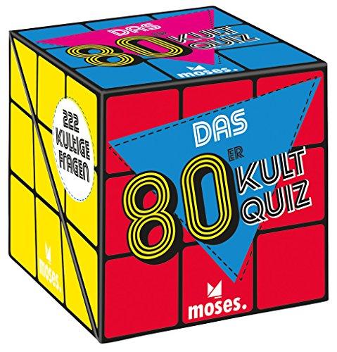 Das 80er-Kultquiz   222 kultige Fragen rund um die wilden 80er   Quiz Spiel