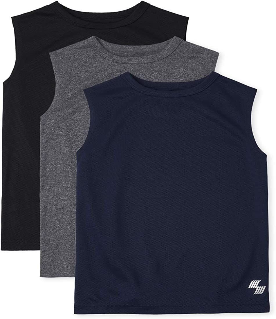 The Children's Long-awaited Place Minneapolis Mall Boys Performance 3-Pack Tank Top Muscle