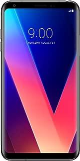LG V30+ Dual SIM - 128GB, 4GB RAM, 4G LTE, Aurora Black