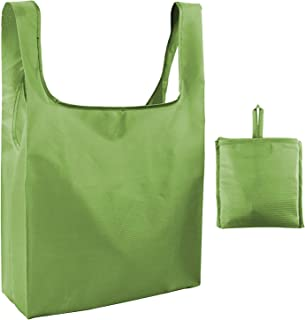 Reusable Grocery Bags Washable Shopping Bag 50LB Weight Capacity, Foldable, Waterproof, Lightweight Tote Bags