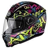 Airoh - casco moto airoh storm cool bicolor gloss stcb17 - cast12f - xxl