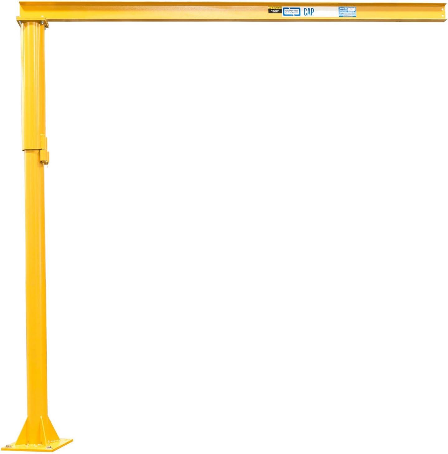 Contrx Excellence Medium Duty Purchase Floor Mounted Jib 8' Lb. 500 Capacity Crane