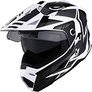 1Storm Dual Sport Motorcycle Motocross Off Road Full Face...