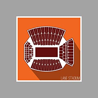 lane stadium print