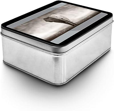 Amazon.com: Meori clásico grande plegable caja, Lava Negro ...