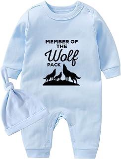 culbutomind Babyanzug Outfit Set Baby Loves Rock Print Langarm Säugling Kleidung Neugeborene Babykleidung