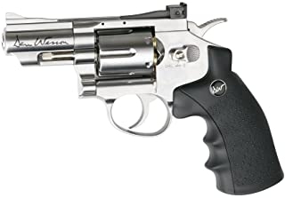 ASG Dan Wesson CO2 Powered Pellet Air-Revolver, Silver, 2.5""