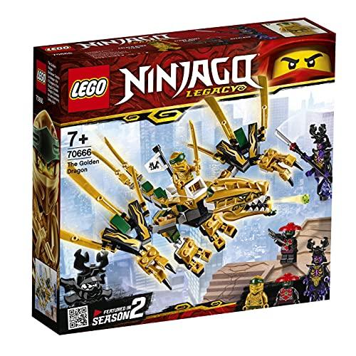 LEGO Dragón Dorado