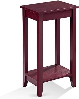 Amazon.com: yaheetech de alto mesa de centro de madera sala ...