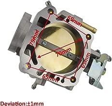 70mm Throttle Body For Honda B16 B17 B18 B20 D15 D16 F20 F22 H22 H23 Cast Aluminum Throttle Body PQY6959
