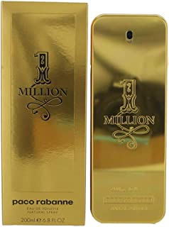 1 Million by Paco Rabanne Men's Eau De Toilette Spray 6.8 Fl Oz - 100% Authentic