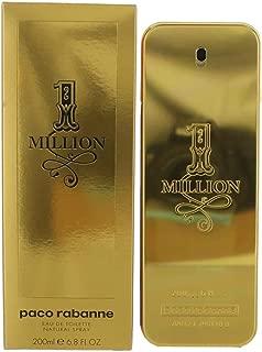 1 Million by Paco Rabanne Men's Eau De Toilette Spray 6.8 Fl Oz - 100% Authentic