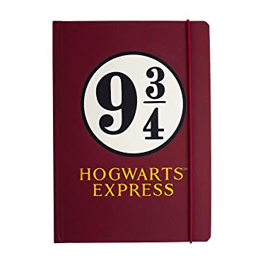 Harry Potter NBA5HP09 Notebook A5 Platform 9 3 4 Half Mo, Red, One Size