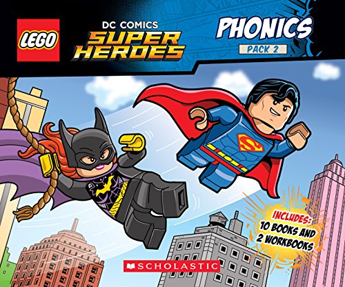 Phonics Pack 2 (LEGO DC Super Heroes) (Lego DC Comics Super Heroes K-1st - Reading Level Grade 1, Band 2)